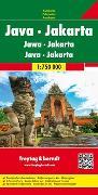 Cover-Bild zu Freytag-Berndt und Artaria KG (Hrsg.): Java - Jakarta. 1:750'000