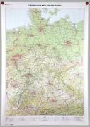 Cover-Bild zu BKG - Bundesamt für Kartographie und Geodäsie (Hrsg.): Übersichtskarte Deutschland 1:750 000. 1:750'000