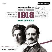 Cover-Bild zu November 1918. Eine deutsche Revolution (Audio Download) von Döblin, Alfred