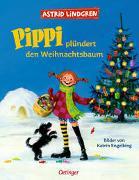 Cover-Bild zu Lindgren, Astrid: Pippi plündert den Weihnachtsbaum