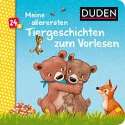 Cover-Bild zu Holthausen, Luise: Duden 24+: Meine allerersten Tiergeschichten zum Vorlesen