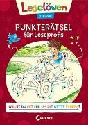 Cover-Bild zu Loewe Kreativ (Hrsg.): Leselöwen Punkterätsel für Leseprofis - 2. Klasse (Rot)