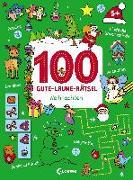 Cover-Bild zu Loewe Lernen und Rätseln (Hrsg.): 100 Gute-Laune-Rätsel - Weihnachten