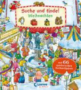Cover-Bild zu Loewe Meine allerersten Bücher (Hrsg.): Suche und finde! - Weihnachten