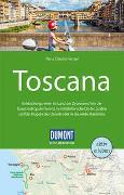 Cover-Bild zu Nenzel, Nana Claudia: DuMont Reise-Handbuch Reiseführer Toscana. 1:375'000
