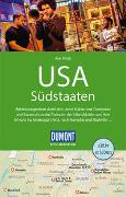 Cover-Bild zu Pinck, Axel: DuMont Reise-Handbuch Reiseführer USA, Die Südstaaten. 1:1'500'000