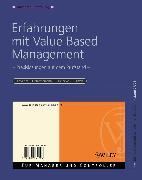 Cover-Bild zu Weber, Jürgen: Erfahrungen mit Value Based Management (eBook)