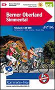 Cover-Bild zu Hallwag Kümmerly+Frey AG (Hrsg.): Berner Oberland, Simmental Velokarte Nr. 16. 1:60'000