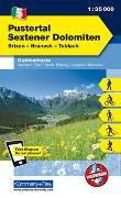 Cover-Bild zu Hallwag Kümmerly+Frey AG (Hrsg.): Pustertal - Sextener Dolomiten Nr. 05 Outdoorkarte Italien 1:35 000. 1:35'000