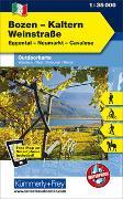 Cover-Bild zu Hallwag Kümmerly+Frey AG (Hrsg.): Bozen - Kaltern - Weinstrasse Nr. 03 Outdoorkarte Italien 1:35 000. 1:35'000