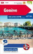 Cover-Bild zu Hallwag Kümmerly+Frey AG (Hrsg.): Genève Nr. 17 Velokarte 1:60 000. 1:60'000