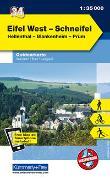 Cover-Bild zu Hallwag Kümmerly+Frey AG (Hrsg.): Eifel West - Schneifel Nr. 34 Outdoorkarte Deutschland 1:35 000. 1:35'000