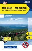 Cover-Bild zu Hallwag Kümmerly+Frey AG (Hrsg.): Brocken - Oberharz Nr. 17 Outdoorkarte Deutschland 1:35 000. 1:35'000