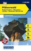 Cover-Bild zu Hallwag Kümmerly+Frey AG (Hrsg.): Pfälzerwald Nr. 24 Outdoorkarte Deutschland 1:50 000. 1:50'000