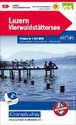 Cover-Bild zu Hallwag Kümmerly+Frey AG (Hrsg.): Luzern Vierwaldstättersee Nr. 11 Velokarte 1:60 000. 1:60'000