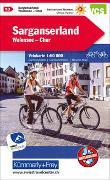 Cover-Bild zu Hallwag Kümmerly+Frey AG (Hrsg.): Sarganserland - Walensee - Chur Nr. 13 Velokarte 1:60 000. 1:60'000