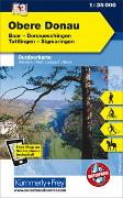 Cover-Bild zu Hallwag Kümmerly+Frey AG (Hrsg.): Obere Donau Nr. 53 Outdoorkarte Deutschland 1:35 000. 1:35'000