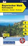 Cover-Bild zu Hallwag Kümmerly+Frey AG (Hrsg.): Nationalpark Bayerischer Wald Nr. 54 Outdoorkarte Deutschland 1:35 000. 1:35'000
