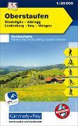 Cover-Bild zu Hallwag Kümmerly+Frey AG (Hrsg.): Oberstaufen Nr. 55 Outdoorkarte Deutschland 1:35 000. 1:35'000