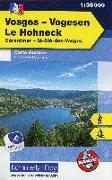 Cover-Bild zu Hallwag Kümmerly+Frey AG (Hrsg.): Vogesen - Le Honeck Nr. 04 Outdoorkarte 1:35 000. 1:35'000