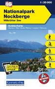 Cover-Bild zu Hallwag Kümmerly+Frey AG (Hrsg.): Nationalpark Nockberge Nr. 18 Outdoorkarte Österreich 1:35 000. 1:35'000