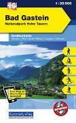 Cover-Bild zu Hallwag Kümmerly+Frey AG (Hrsg.): Bad Gastein Nr.16 Outdoorkarte Österreich 1:35 000. 1:35'000