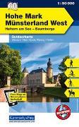 Cover-Bild zu Hallwag Kümmerly+Frey AG (Hrsg.): Hohe Mark, Münsterland West, Nr. 60 Outdoorkarte Deutschland 1:50 000. 1:50'000