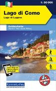 Cover-Bild zu Hallwag Kümmerly+Frey AG (Hrsg.): Lago di Como Nr. 09 Outdoorkarte Italien 1:50 000. 1:50'000