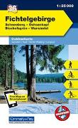 Cover-Bild zu Hallwag Kümmerly+Frey AG (Hrsg.): Fichtelgebirge Nr. 36 Outdoorkarte Deutschland 1:35 000. 1:35'000