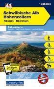 Cover-Bild zu Hallwag Kümmerly+Frey AG (Hrsg.): Schwäbische Alb-Hohenzollern-Albstadt-Hechingen, Nr. 41 Outdoorkarte Deutschland 1:35 000. 1:35'000