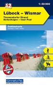 Cover-Bild zu Hallwag Kümmerly+Frey AG (Hrsg.): Lübeck - Wismar Nr. 12 Outdoorkarte Deutschland 1:50 000. 1:50'000