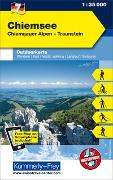 Cover-Bild zu Hallwag Kümmerly+Frey AG (Hrsg.): Chiemsee Nr. 07 Outdoorkarte Deutschland 1:35 000. 1:35'000