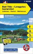 Cover-Bild zu Hallwag Kümmerly+Frey AG (Hrsg.): Bad Tölz - Lenggries - Isarwinkel Nr. 04 Outdoorkarte Deutschland 1:35 000. 1:35'000