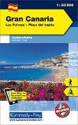 Cover-Bild zu Hallwag Kümmerly+Frey AG (Hrsg.): Gran Canaria Outdoorkarte Spanien 1:50 000. 1:50'000