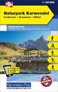Cover-Bild zu Hallwag Kümmerly+Frey AG (Hrsg.): Naturpark Karwendel, Nr. 08 Outdoorkarte Österreich 1:35 000. 1:35'000