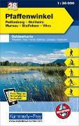 Cover-Bild zu Hallwag Kümmerly+Frey AG (Hrsg.): Pfaffenwinkel Nr. 28 Outdoorkarte Deutschland 1:35 000. 1:35'000