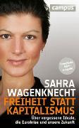 Cover-Bild zu Wagenknecht, Sahra: Freiheit statt Kapitalismus