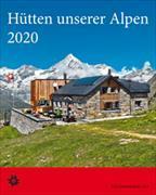 Cover-Bild zu Hütten unserer Alpen 2021