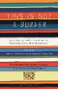 Cover-Bild zu Coetzee, J. M.: This Is Not A Border (eBook)