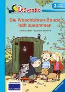 Cover-Bild zu Allert, Judith: Leserabe - 2. Lesestufe: Die Waschbären-Bande hält zusammen