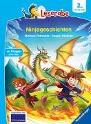 Cover-Bild zu Petrowitz, Michael: Ninjageschichten - Leserabe ab 2. Klasse - Erstlesebuch für Kinder ab 7 Jahren