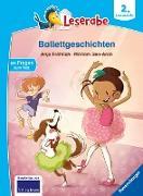 Cover-Bild zu Fröhlich, Anja: Leserabe - 2. Lesestufe: Ballettgeschichten (eBook)