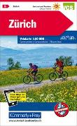 Cover-Bild zu Hallwag Kümmerly+Frey AG (Hrsg.): Zürich Nr. 06 Velokarte 1:60 000. 1:60'000