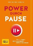 Cover-Bild zu Froböse, Ingo: Power durch Pause (eBook)