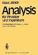Cover-Bild zu Analysis für Physiker und Ingenieure (eBook) von Jänich, K.