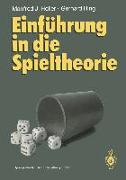 Cover-Bild zu Einführung in die Spieltheorie (eBook) von Holler, Manfred J.