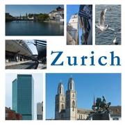 Cover-Bild zu Zurich - images of a city