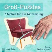 """Cover-Bild zu Groß-Puzzles: Thema """"Wohnzimmer"""""""