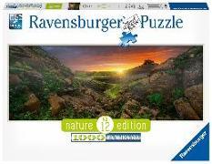 Cover-Bild zu Sonne über Island, Puzzle 1000 Teile