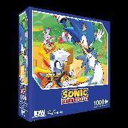 Cover-Bild zu Sonic The Hedgehog: Too Slow! Premium Puzzle (1000-pc)